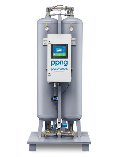PPNG Nitrogen generators (front view)
